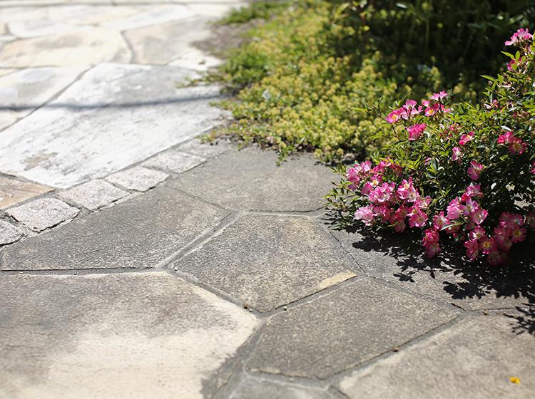 お庭に合った石選び