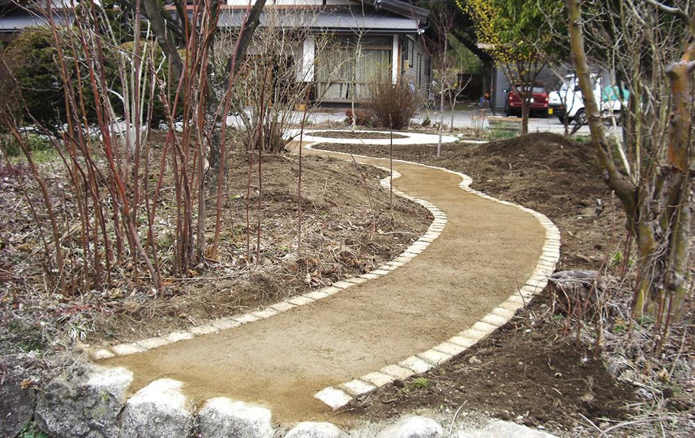 土舗装材料